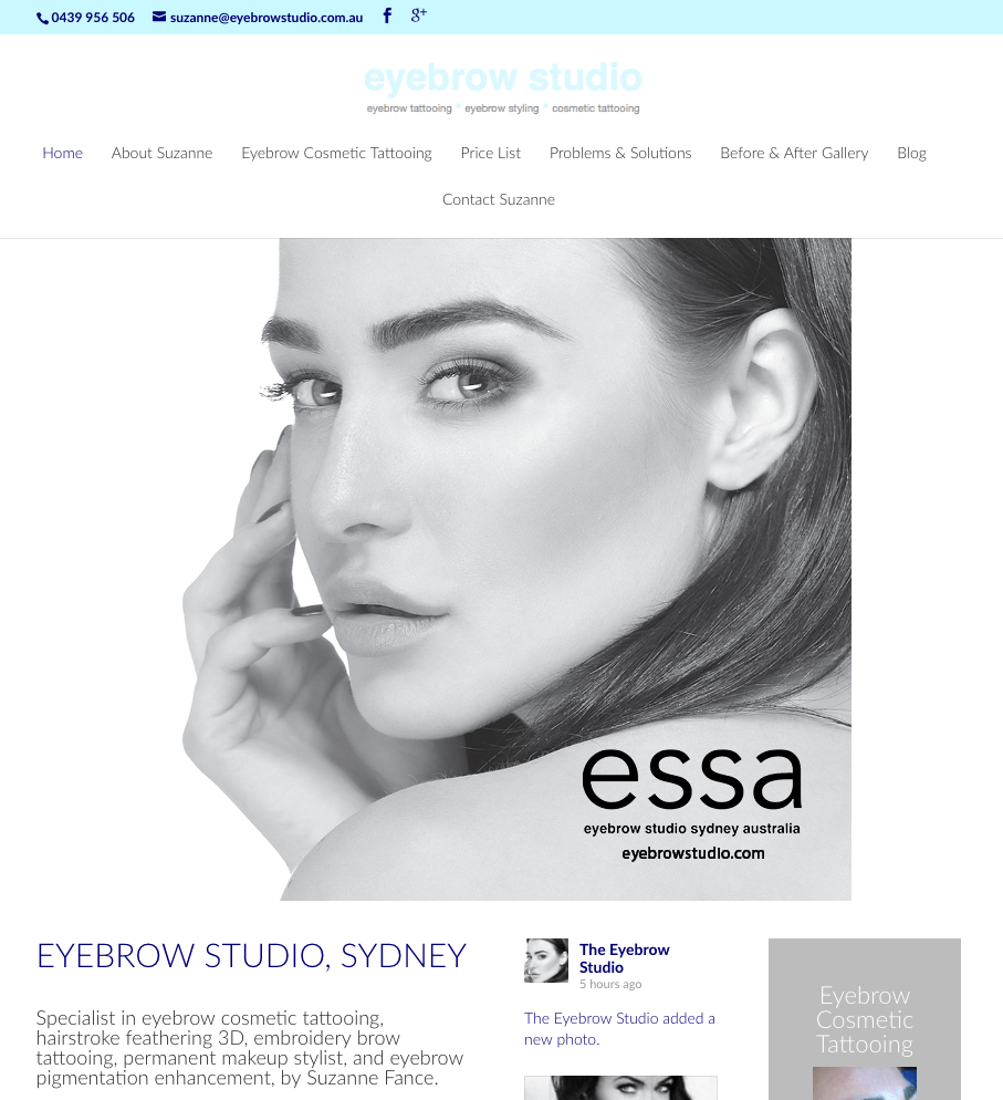 Eyebrow Studio by Websites4smb