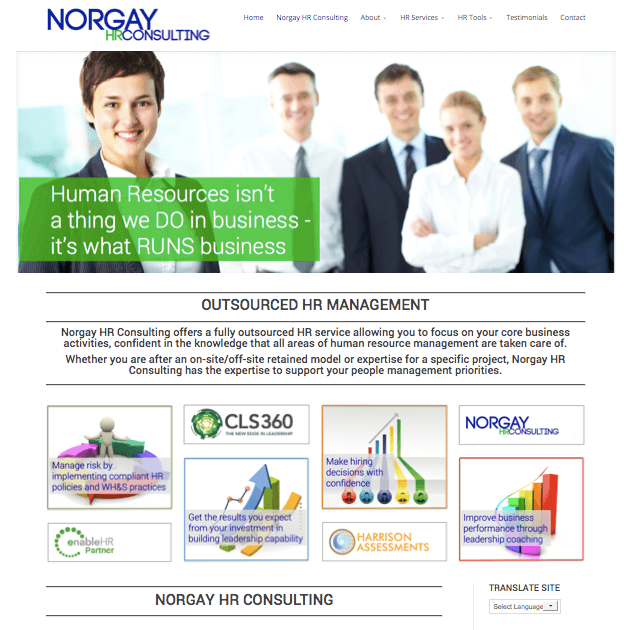 Norgay HR Consulting by websites4smb