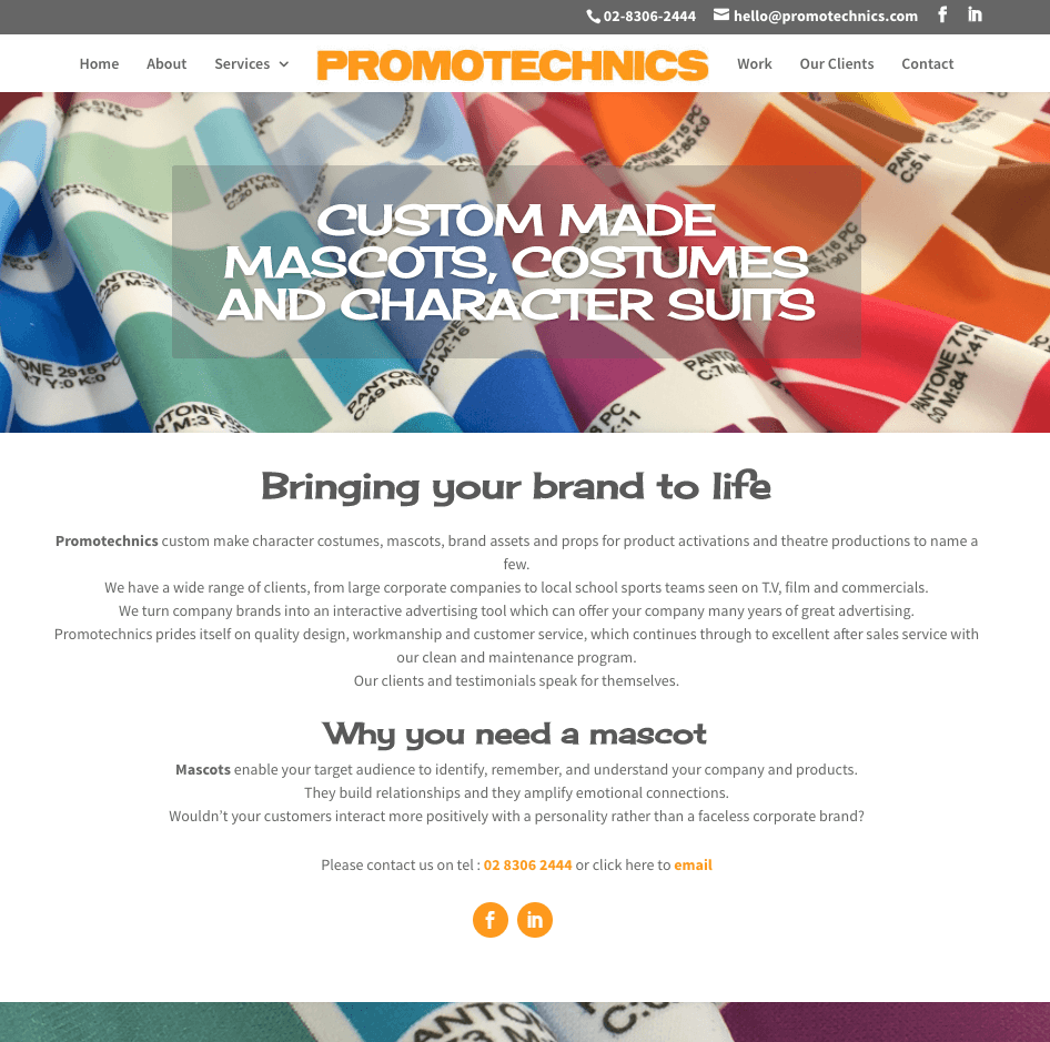 Promotechnics by Websites4smb