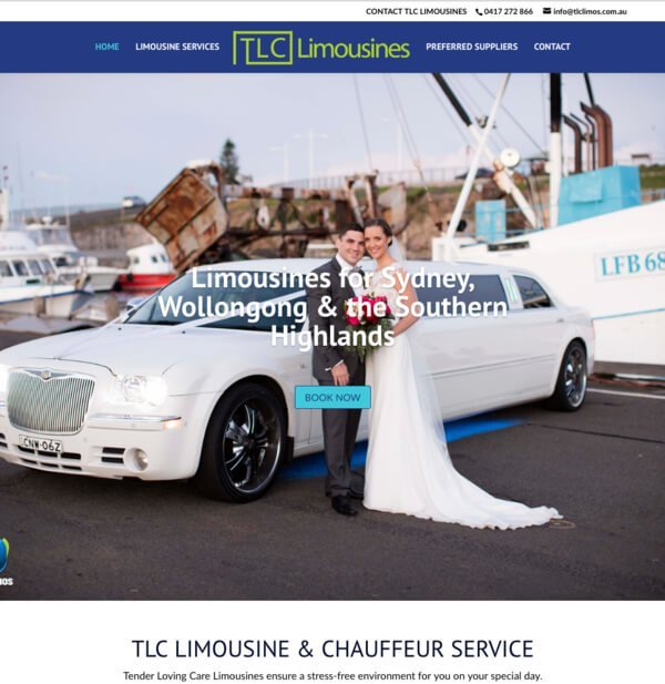 TLC Limousines by websites4smb